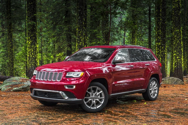 2014 Jeep Grand Cherokee Summit Available in Laredo, Limited, Overland and Summit trims, the Jeep Grand Cherokee is clearly at the top of its class.