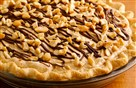 Creamy Cashew Turtle Pie, entered by Tina Repak-Mirilovich of Johnstown.