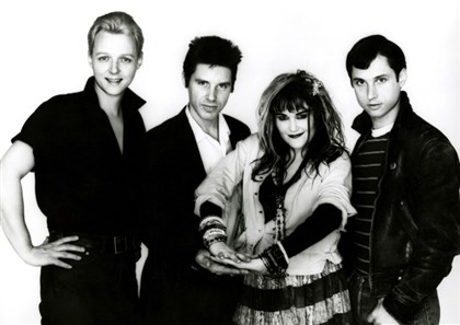 80sXband20140828 X in the '80s, from left: Billy Zoom, John Doe, Exene Cervenka and DJ Bonebrake.