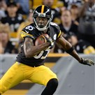 Darrius Heyward-Bey picks up yardage Thursday night against the Panthers at Heinz Field.
