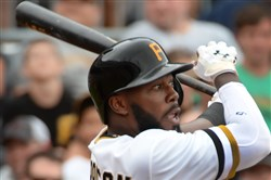 Josh Harrison entered Thursday hitting a National League-high .318.