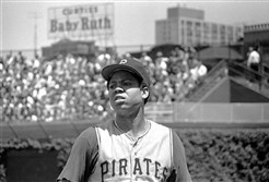 "Dock Ellis on the field in ""No No: A Dockumentary."""