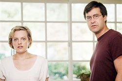 "Elisabeth Moss and Mark Duplass portray an estranged couple trying to reconnect in ""The One I Love."""
