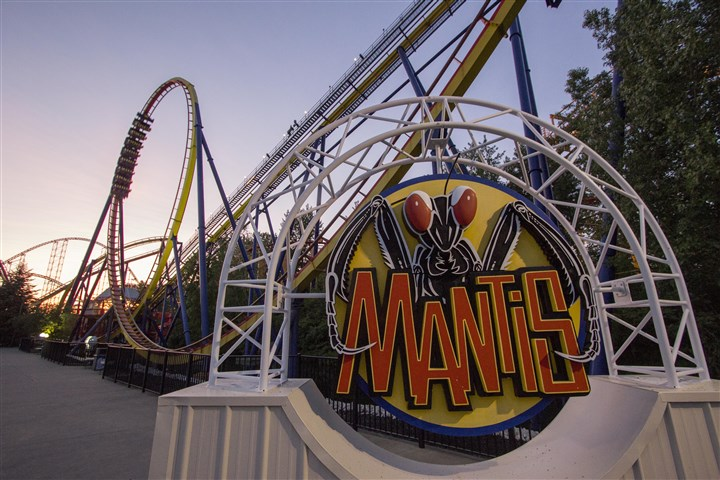 Mantis at Cedar Point Cedar Point announced today that the Mantis roller coaster will shut down Oct. 19.