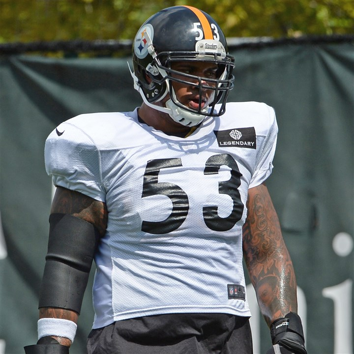 Maurkice Pouncey practice Maurkice Pouncey practices Wednesday on the South Side.