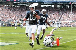 Penn State's Jesse James, and underclassman, was selected by the Steelers in the fifth round of the 2015 NFL Draft.