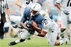 Penn State receiver DaeSean Hamilton has formed a formidable duo with Geno Lewis.