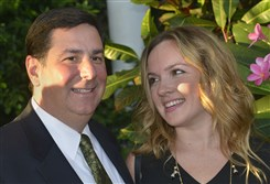 Mayor William Peduto  and Caitlin Lasky.