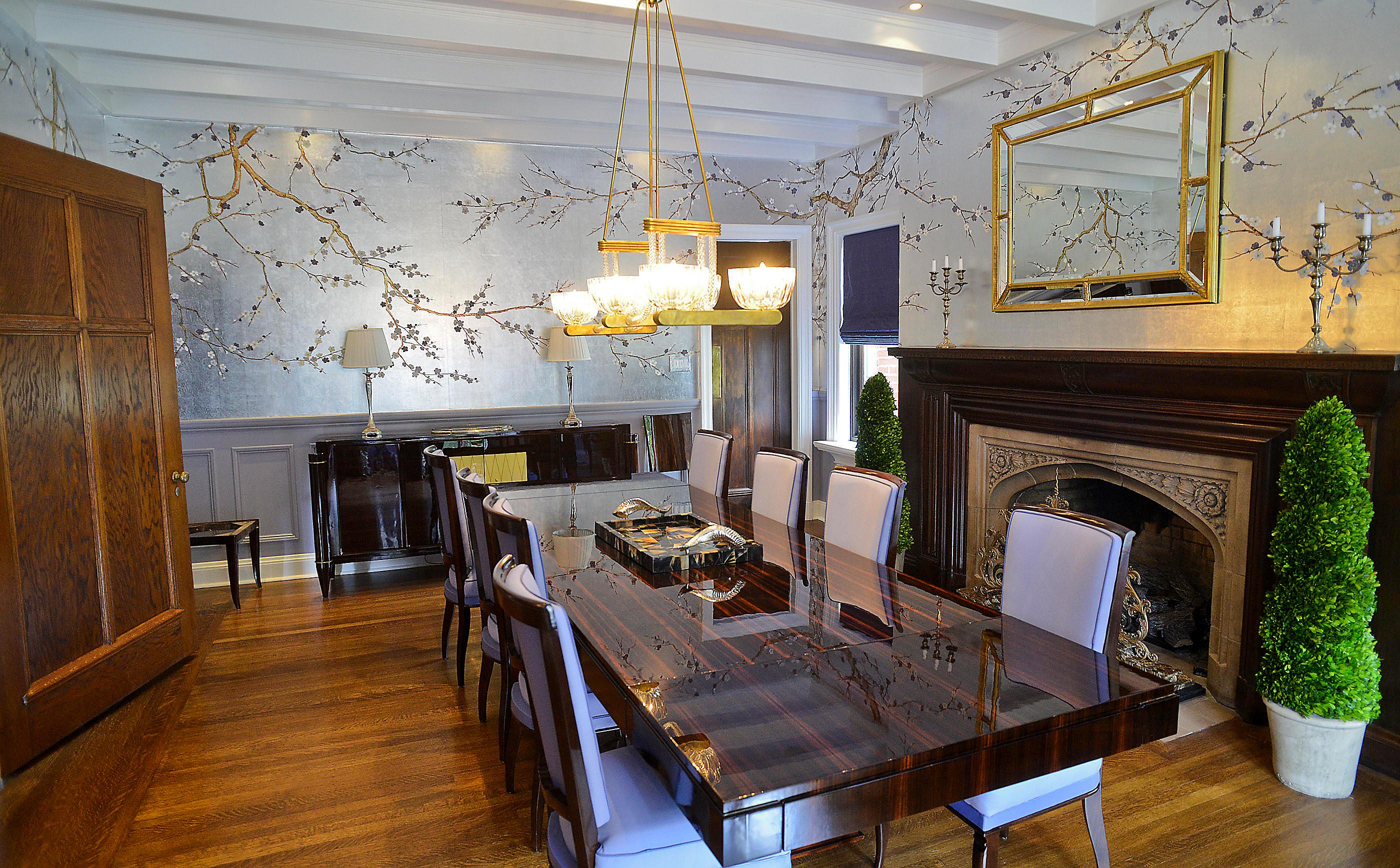 Designer banishes dark wood from grand Tudor in Shadyside ...