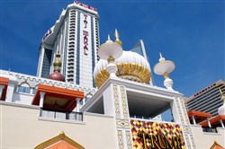 Trump Entertainment Resorts filed for protection in U.S. Bankruptcy Court Tuesday in Wilmington, Del., saying it has liabilities of more than $100 million. At stake is the Trump Taj Mahal Casino Resort in Atlantic City, N.J.