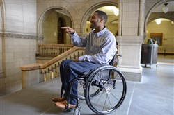 During Thursday's meeting, Leon Ford, 22, who was shot and paralyzed by police during a traffic stop in 2012, asked how the researchers planned to get young people involved in their efforts.