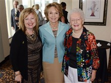 Elizabeth Wheatley, Julie Eisenhower and Joanne Ostergaard.