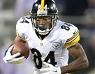 Antonio Brown -- 12 reception in first two games