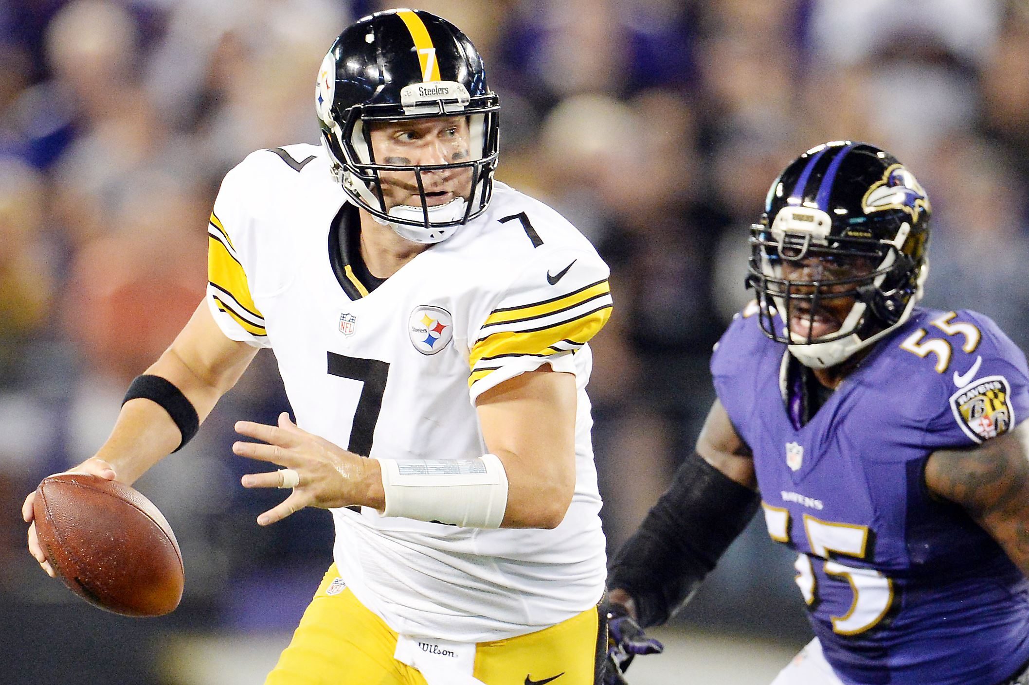 Ben Roethlisberger, Steelers vs. Ravens, Steelers at M&T Bank Stadium, Ben Roethlisberger's M&T Bank Stadium losing streak