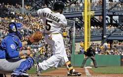 Pirates utilityman Josh Harrison inches closer to the National League batting title.