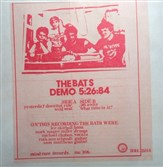The Mind Cure Records release of The Bats' live show in May 1984, featuring the not-yet-famous author Michael Chabon on vocals.