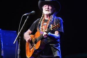 "Willie Nelson plays ""Still is Still Moving to Me,"" at the Benedum Center."