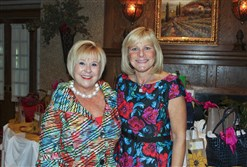 Lynn Bainbridgeand Edyce Rizzi at the Vision of Hope luncheon.