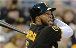 The Pirates' Josh Harrison became a super-utilityman this season..