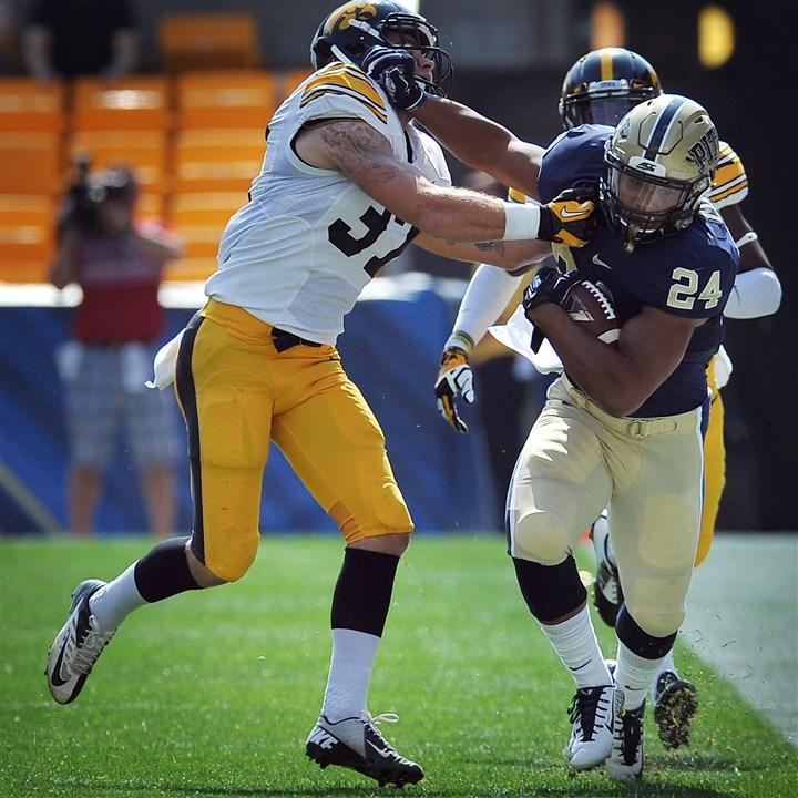 Pitt running back Jame...