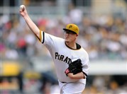 Pirates starting pitcher Vance Worley led the way in today's game against the Brewers.