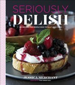 "This is Jessica Merchant, the Pittsburgh-area blogger's new book, ""Seriously Delish."""