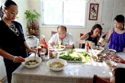 The Hmong-American family of Sia Her gathers each week in her parents' home in St. Paul, Minn., to share ethnic food and connect across the generations.