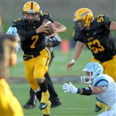 Montour's Randall LaBrie (7) has defied the odds in his return from an ACL tear.