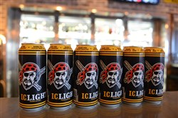 IC Light's Pirates cans are popular sellers at The Beer Market on the North Side.