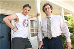 Comedy duo Tim and Eric (Tim Heidecker and Eric Wareheim).