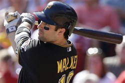 Pittsburgh Pirates' Neil Walker hit .271 with 23 home runs in 2014.