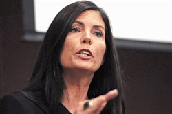 State Attorney General Kathleen Kane was the first Democrat and first woman to be elected to the state office.