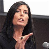 Kathleen Kane is the first woman and first Democrat elected attorney general in Pennsylvania.