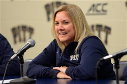 """It will be a great early season road test for us,"" Pitt coach Suzie McConnell-Serio said about the December tilt against Michigan."