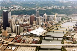 Pittsburgh's Downtown population has reached 4,400, a four-fold increase after having just a little more than 1,000 in 2000.