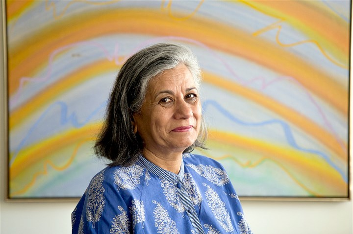 Ratna Omidvar Ratna Omidvar, head of the Ryerson Maytree Global Diversity Exchange in Toronto, says her city has become so multicultural because Canada's point-based immigration system favors qualified immigrants no matter where they come from.