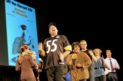 "Last year's ""Off the Record"" explored ""Mysteries of Pittsburgh."" This year's skewering of local newsmakers takes place Thursday at the Byham Theater, Downtown."