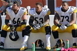 It's time for the Steelers to lean on their well-paid offensive linemen.