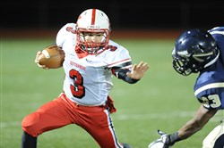 Kittanning quarterback Braydon Toy is small in stature, but big on production.