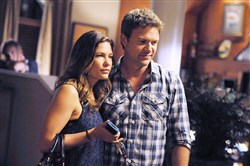 "Jim Longworth (portrayed by Matt Passmore) was shot on his wedding day to Callie Cargill (Kiele Sanchez) on ""The Glades,"" which A&E canceled before resolving its cliffhanger."