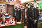 "Chris Evans, right, leads a band of have-nots in the dystopian thriller, ""Snowpiercer"" available on video on demand."