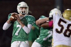 Seton-LaSalle must try to contain South Fayette quarterback Brett Brumbaugh, the WPIAL's all-time career passing leader.