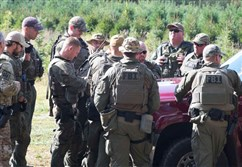 State police believe they have shooting suspect Eric Frein contained in a 5-square-mile area in the woods of northeastern Pennsylvania. As long as they do, they said, Mr. Frein doesn't have access to a lot of potential victims.