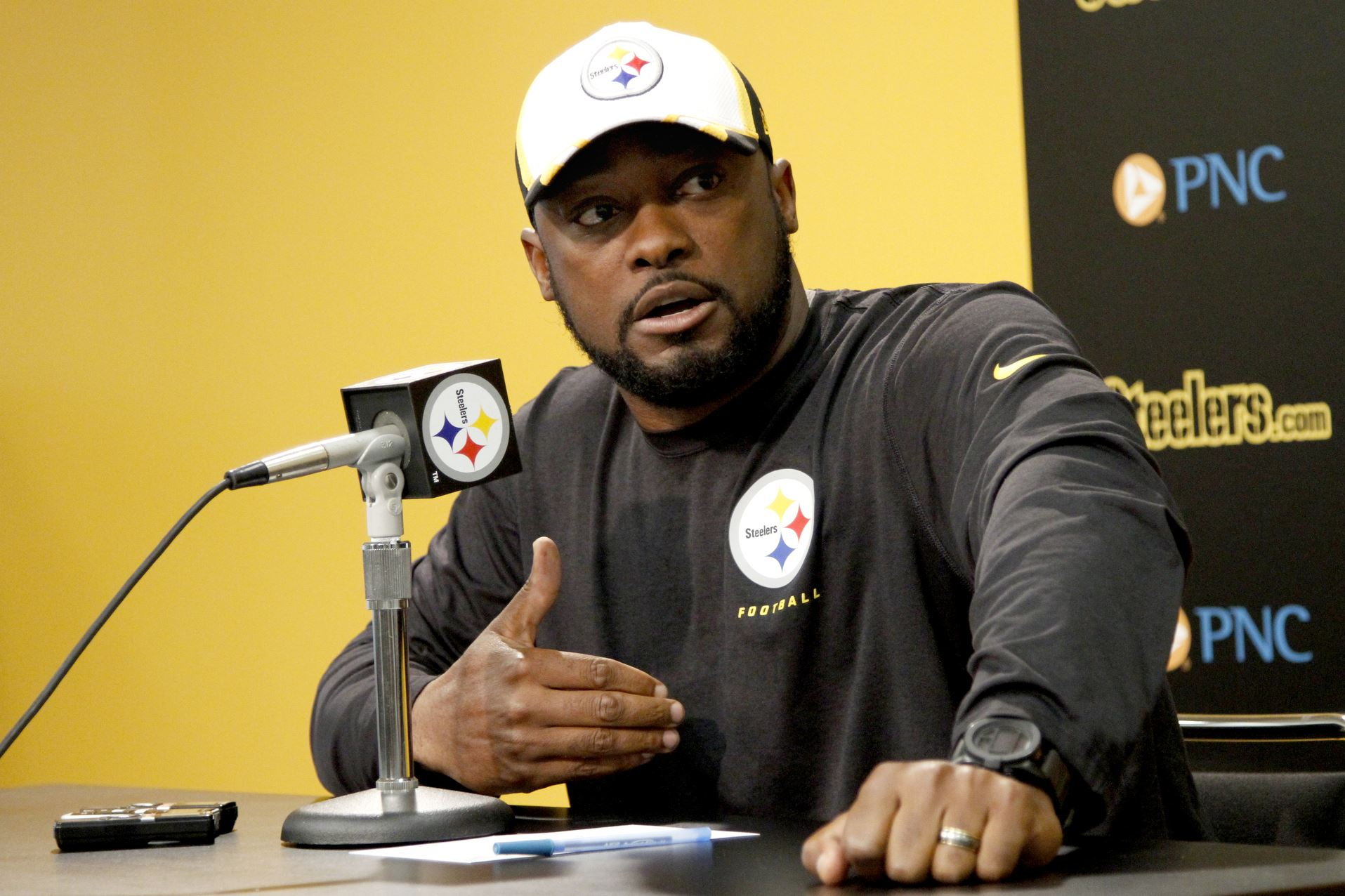 mike tomlin, mike tomlin's 100 wins steelers head coach,