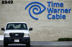 "A Time Warner Cable office is pictured in San Diego on Wednesday. Time Warner Inc.'s HBO will launch a standalone online streaming service next year to make hit shows such as ""Game of Thrones"" available to people who do not subscribe to cable television."