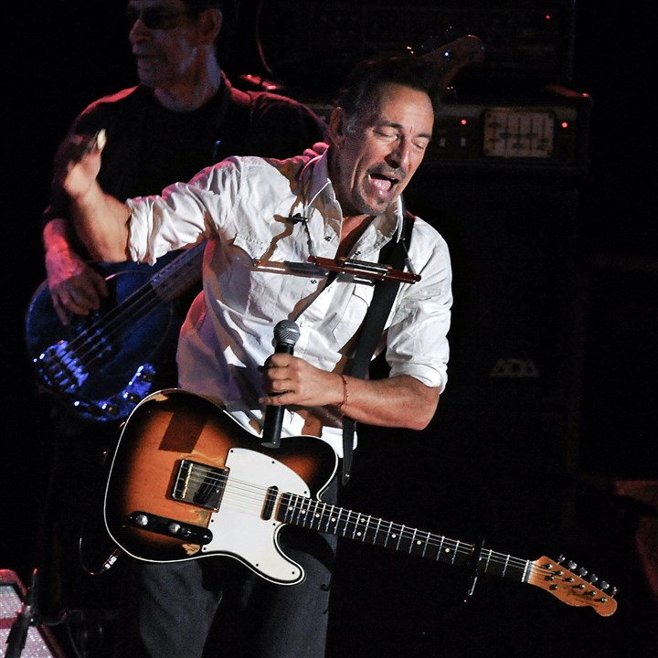 "20141017bwSpringsteenMag Bruce Springsteen and the E Street Band will perform ""The River"" in its entirety when he performs here on Saturday."