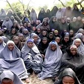 Alleged missing girls abducted in Nigeria are shown in this image released by the Boko Haram Islamic extremist group in May. Nigerian government officials announced Friday that more than 200 girls will be released by the group.