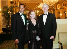Clyde Jones #SEENBestDressed,  with Michele Fabrizi and Christopher Hahn.