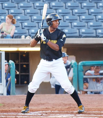 Pirates experiment with outfield prospect Josh Bell at first ba…