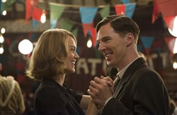 "Keira Knightley and Benedict Cumberbatch star in ""The Imitation Game."""